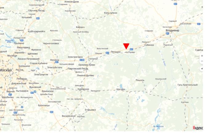ПЕКША, Владимирская область Петушинский район Пекшинское сельское поселение 557635
