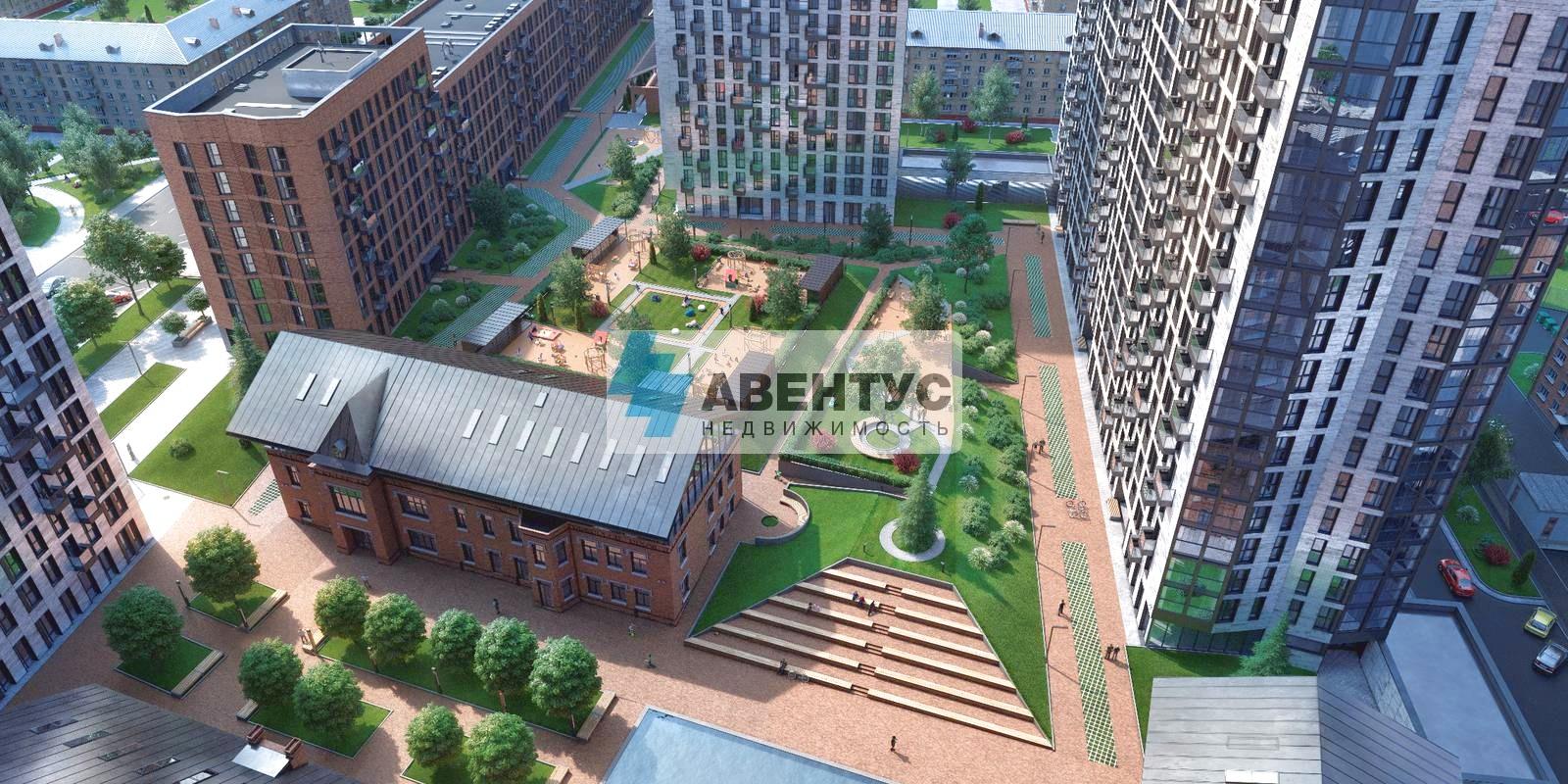 Стрит ритейл 112,2 м² в ЦАО, торец дома 607450 607450