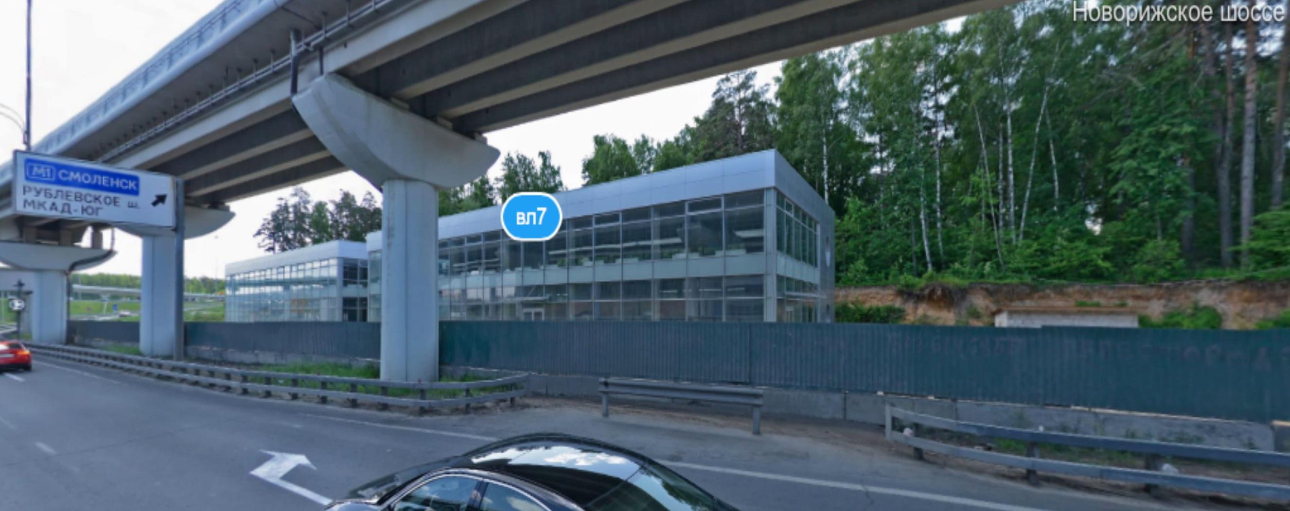 МО, Одинцовский район, Новорижское шоссе 17 км, строение 1 и строение 2, Комплекс придорожного обслуживания 564231 564231