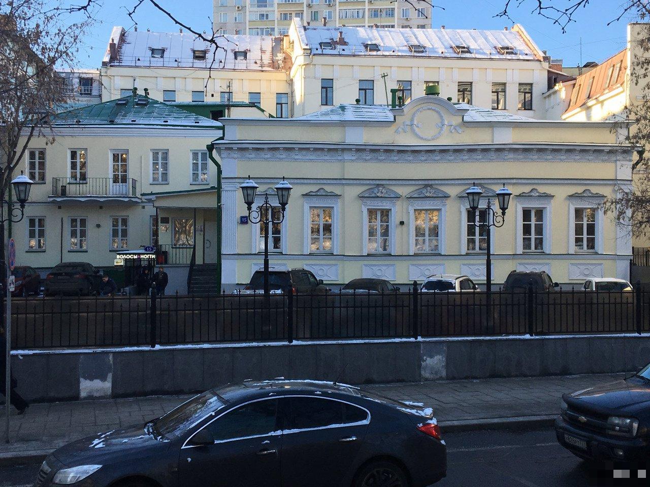 Гоголевский бульвар, д.15, особняк 872.4 м² 565185 565185
